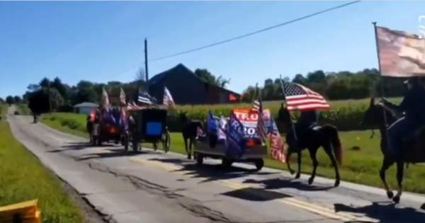 ATN NEWS: You have to see this - An Amish Trump Parade!