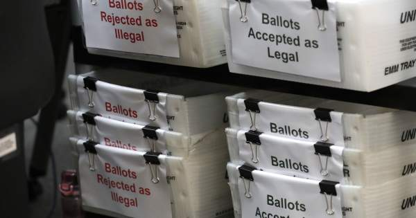 Developed countries 'ban' mail-in voting, US would be 'laughing stock': Report
