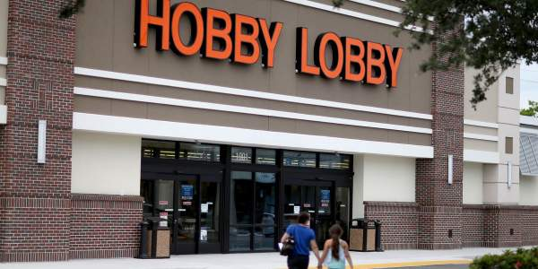 Mass outrage erupts at Hobby Lobby after blatant pro-Trump message appears on a store display - TheBlaze