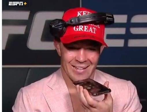 """""""Thank You, Sir. You Gave Me the Dragon Energy"""" -- President Trump Calls MMA Champ Colby Covington After His Victory (VIDEO)"""