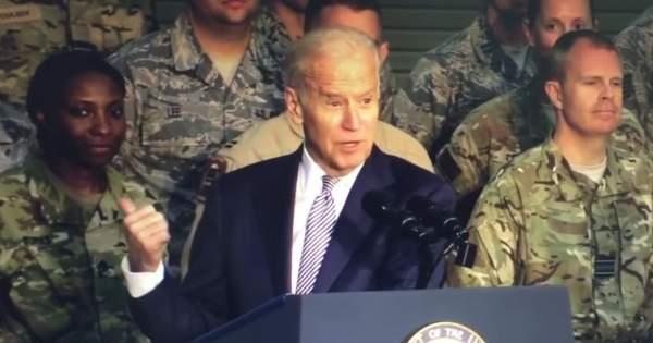 Devastating video shows Biden calling soldiers 'stupid bastards'