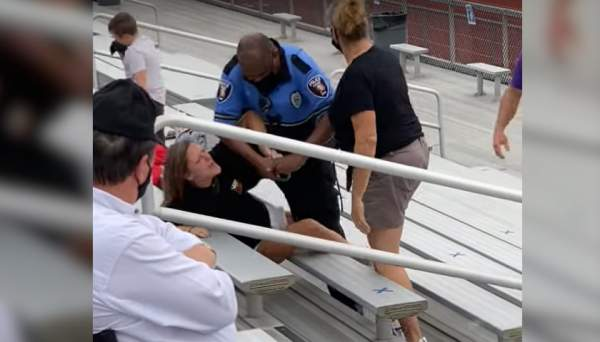 BREAKING: Ohio Football Mom Tased and Arrested for Not Wearing Mask at a Game - The Ohio Star