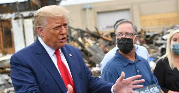 Kenosha: Donald Trump Brought Help, Joe Biden Visit Was 'Waste of Time'