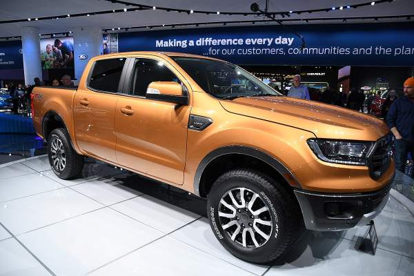 Ford Ranger Tops American-Made Index, Beating the Chevrolet Corvette