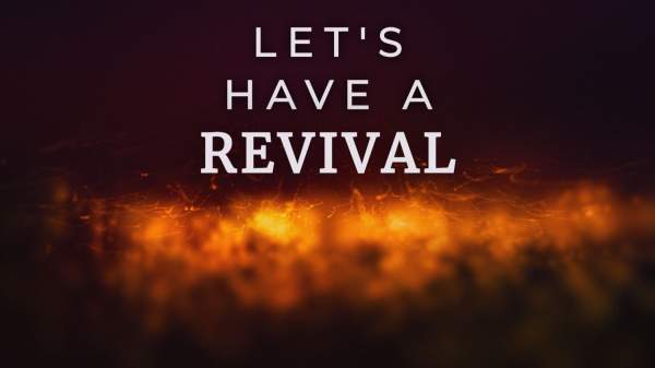 We Need the Holy Spirit for Revival