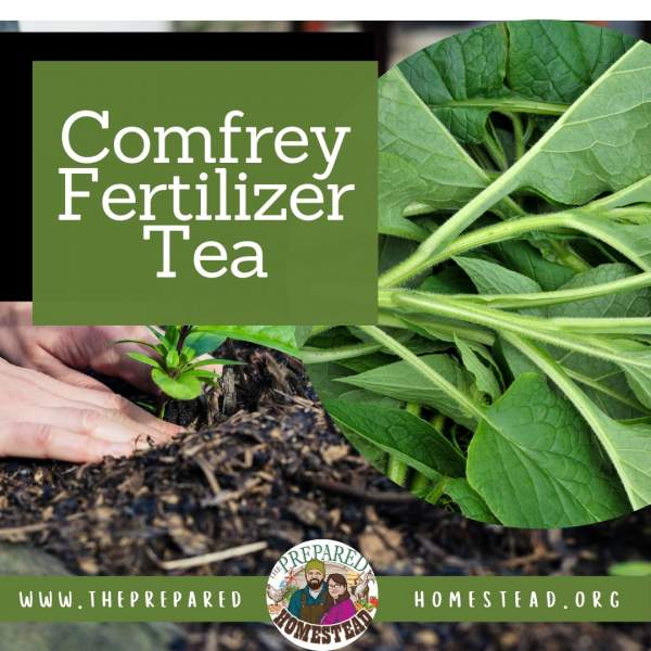 Rabbit Manure & Comfrey Fertilizer