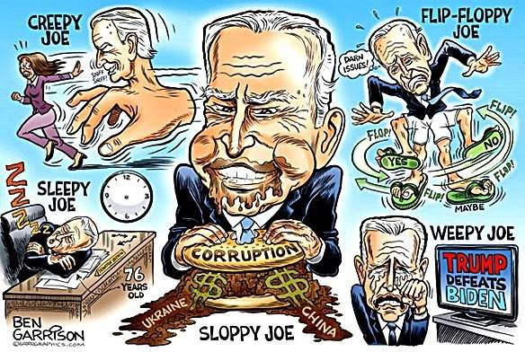 SlantRight 2.0: Biden Family Crimes Look Treasonous