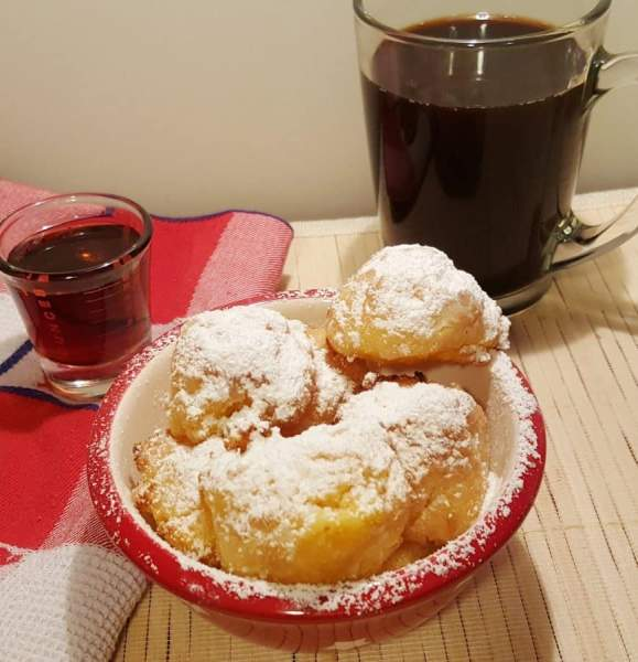 Air Fryer Sweet Polenta Breakfast Bites | This Old Gal