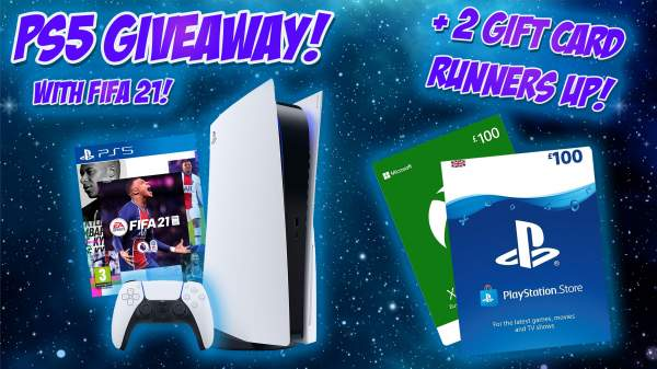 WIN A PS5 AND PSN/XBOX VOUCHERS!