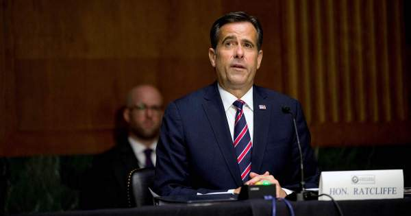 Ratcliffe says no proof foreign actors tied to 'Biden' laptop, but officials say FBI is probing