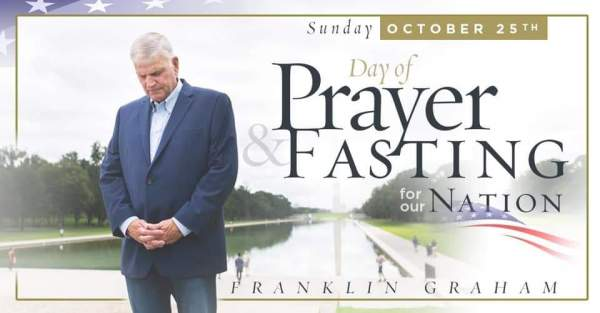 Franklin Graham - This Sunday I hope churches and... | Facebook