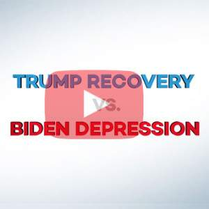 Gingrich 360 | VIDEO: President Trump Recovery vs. Joe Biden Depression | Newt Gingrich