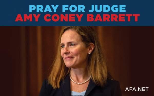 AFA.net - Pray for Judge Amy Coney Barrett