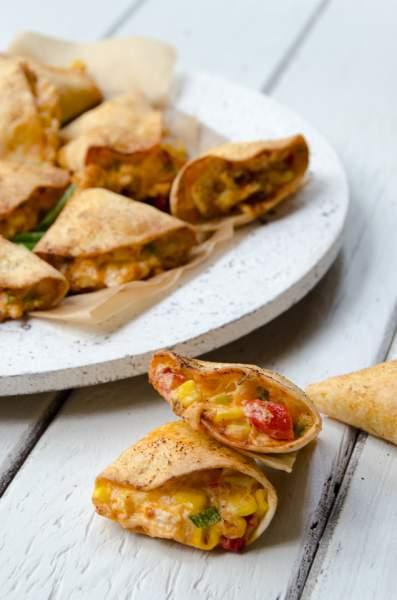 Chicken Stuffed Tortillas | Blue Jean Chef - Meredith Laurence