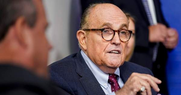 Giuliani Claims To Have Turned Over Alleged Hunter Biden Laptop with Pictures of 'Underage Girls' to Cops