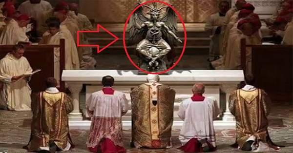 Vatican Revealed - Bizarre Illuminati Rituals Inside (video)