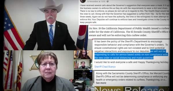 More Cops Say They Won't Enforce Coronavirus Curfews – Reason.com