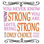 Staying Strong Profile Picture