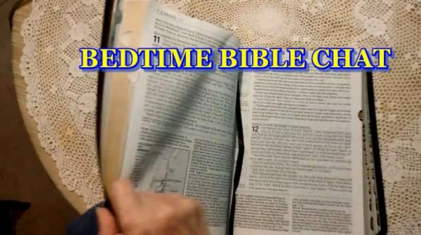 BEDTIME BIBLE CHAT: Job: 33:  Why God allows us to suffer.mp4