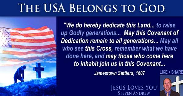 Steven Andrew is leading the USA to reaffirm covenant to heal our land and protect our lives.