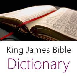 King James Bible Dictionary - Reference List - Slothful