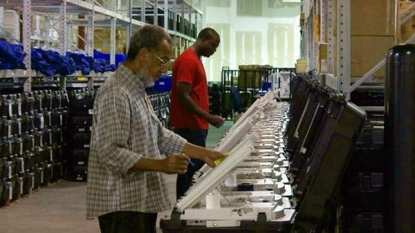 Ware County tested Dominion tabulators: Equal number of votes yielded 26% 'lead' for Joe Biden