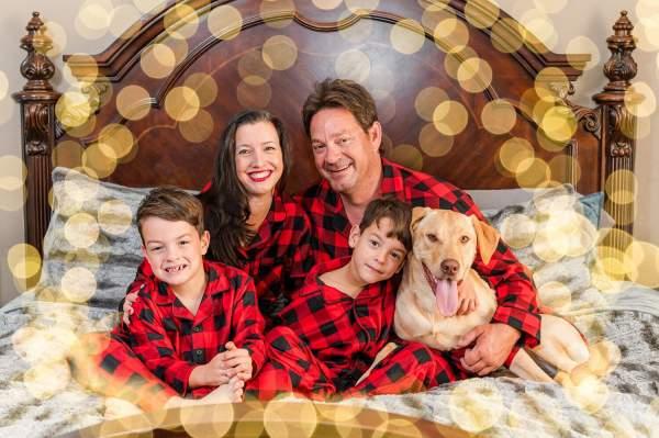 Christmas Pajama Session | Redding Family Photographer — Jen Peterson Photography
