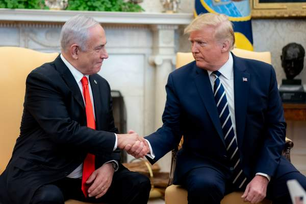 Honoring the friendship between President Trump and Israel and his steps towards Middle East peace - US CHRISTIAN