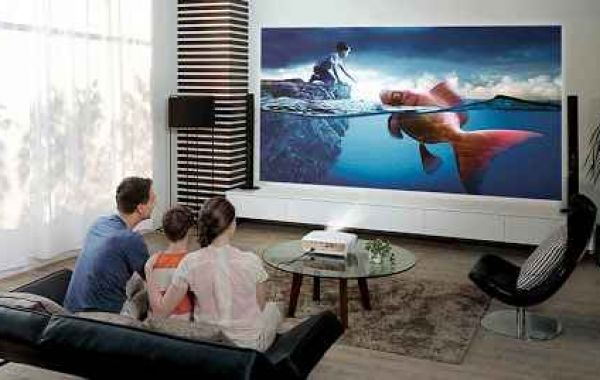 Home cinema in your living room with projector is a perfect idea