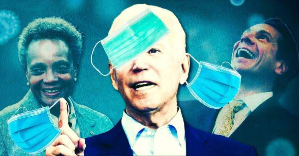 Right On Cue: As Biden Takes Office, Media and Tyrannical Dems Drop Lockdown Sham