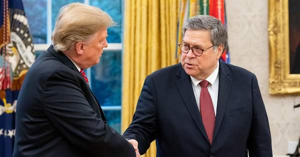SUBVERSION: Bill Barr Told Trump Election Fraud Claims Were 'Bulls**t,' Protected BLM Rioters From Insurrection Act, And Blocked Snowden Pardon - National File