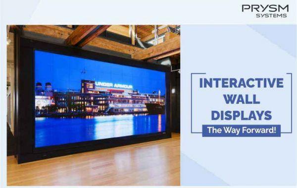 Interactive Video Wall Display: The way Forward!