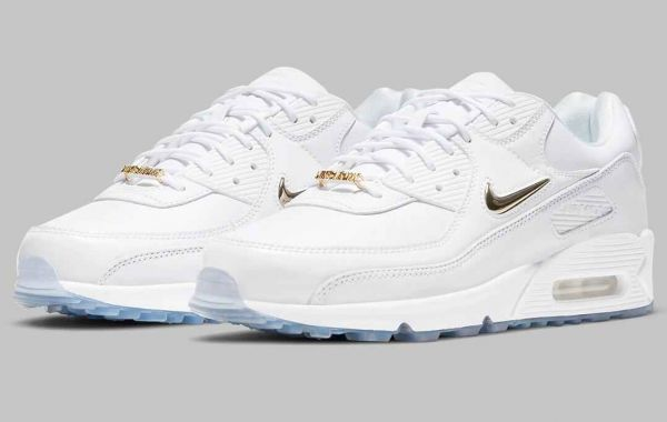 Nike Air Max 90 Pirate Radio White Gold Colorway Release Soon