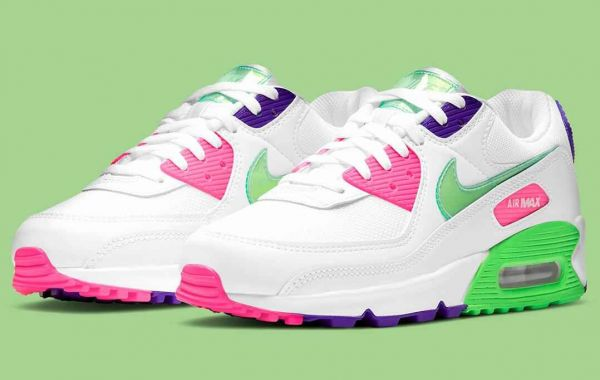Neon-Based Nike Air Max 90 Get the Vinyl Swooshes And Tongues
