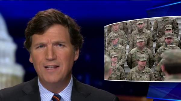 Tucker Carlson: Why are thousands of federal troops still in Washington? | Fox News