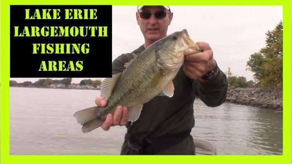 Lake Erie Largemouth Bass Fishing Areas