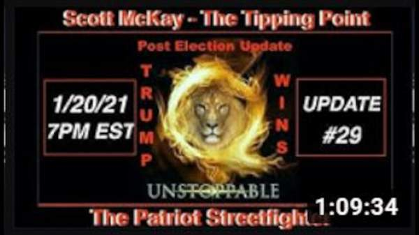 1.20.21 Patriot Streetfighter POST ELECTION UPDATE #29: Defunct US Corp Inauguration Complete