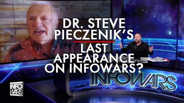 Is This Dr. Steve Pieczenik's Last Appearance on Infowars?