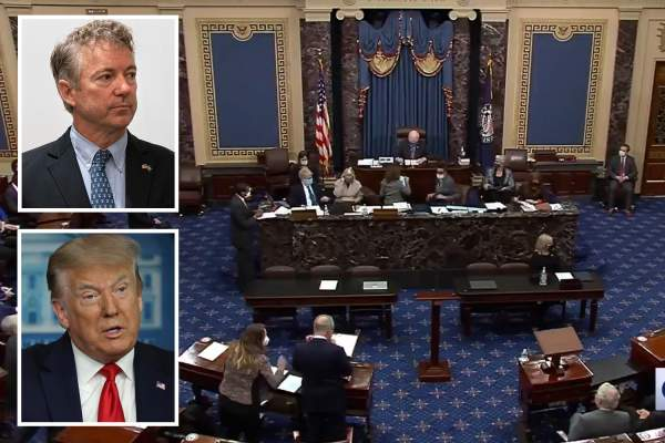 Trump impeachment trial is 'dead on arrival' as Republican senators vote en masse against 'unconstitutional' hearing