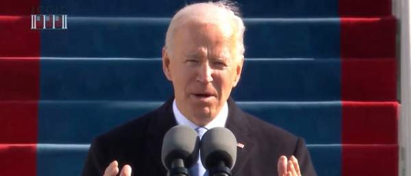 'I Will Be A President For All Americans': President Joe Biden Pledges Unity In Inaugural Address   The Daily Caller