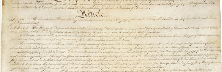 U. S. Constitutional Study Group Cover Image