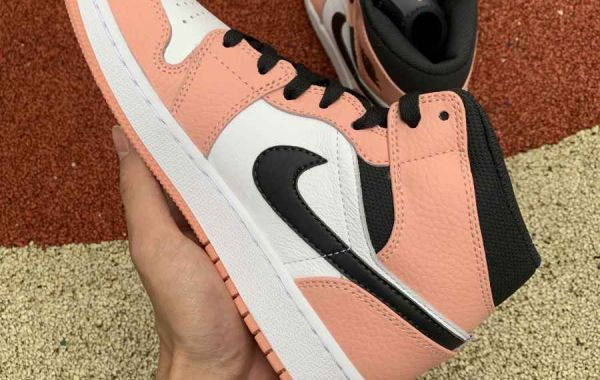 "The Air Jordan 1 Mid ""Pink Quartz"" is Young lady Air Jordan fans favorite shoe!"