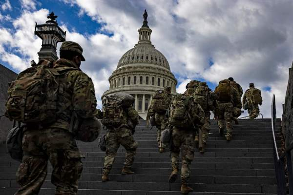 'We feel incredibly betrayed': Thousands of Guardsmen forced to vacate Capitol | NC Renegades
