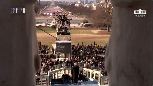 Biden has Maybe 2,000 Attendees at Inauguration -- and 25,000 Military -- Just Like They Do in Lawless Banana Republics