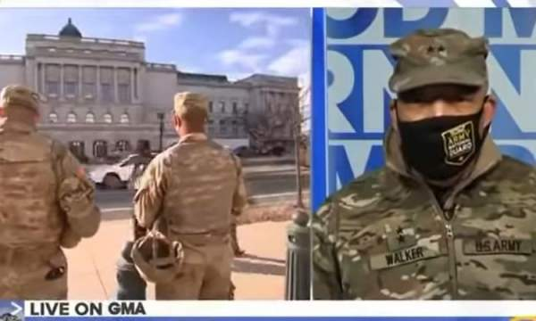 Head of DC National Guard Says That The National Guard Is Helping With Peaceful Transition Of MILITARY POWER (Video) - Conservative US