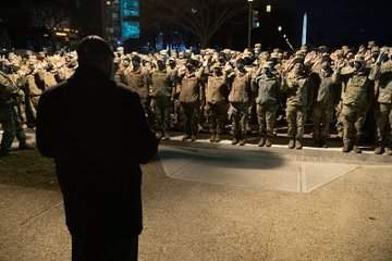 Biden Inaugural: Two Thousand National Guard Troops in D.C. Sworn in as Special Deputy U.S. Marshals