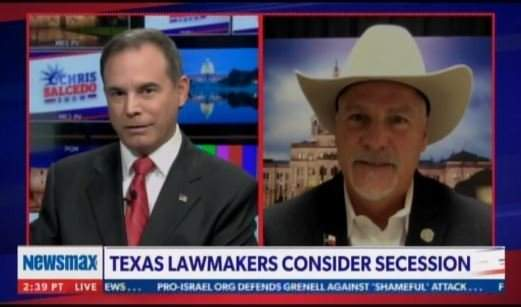 Texas Lawmakers Consider Secession Over Life Under Democrat Marxism -- Several States Interested in Movement (Video)