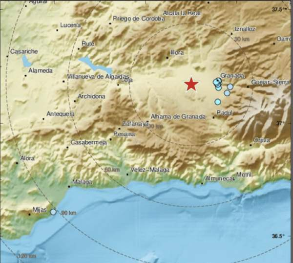 Spain rattled by 4.2 magnitude earthquake, tenth quake in less than two weeks, strongest in 30 years