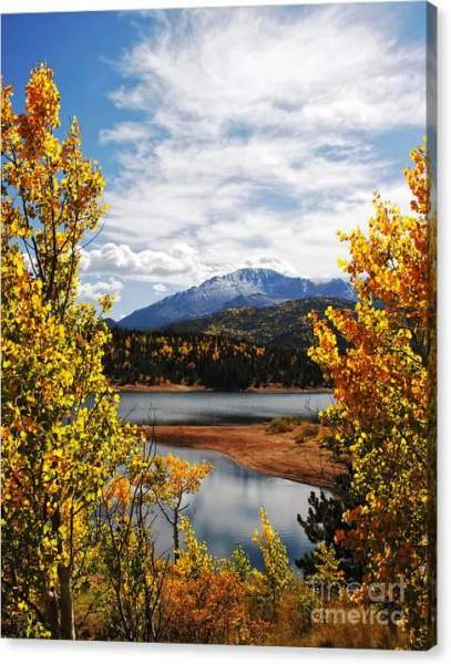 Sold - Pikes Peak in Autumn