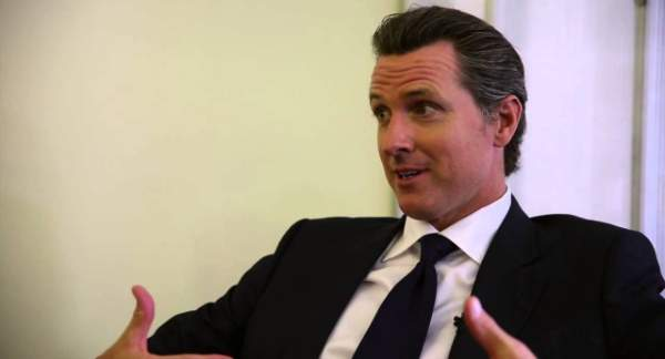 Only 100,000 more signatures needed for recall of Newsom